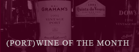 Port wine of the month